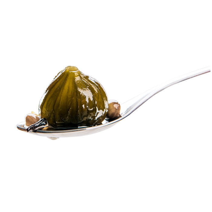 Handmade Fig Spoon Sweet, Traditional Fruit Preserve by Grecian Purveyor top quality greek products and gourmet foods. Best spoon sweets in Australia. Buy online now for free delivery.