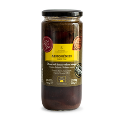 Lemonenies - Gourmet Organic Kalamata Olives With Lemons & No Vinegar - Organic olives hand-picked from organic olive groves in Sparta.Of natural fermentation, with no chemicals or pasteurisation