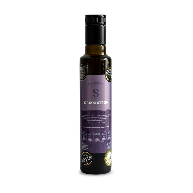 Oleoastron Premium Organic Flavoured and Infused Extra Virgin Olive Oil