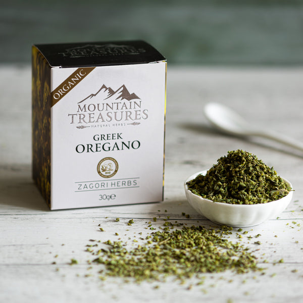 Premium Organic Greek Oregano