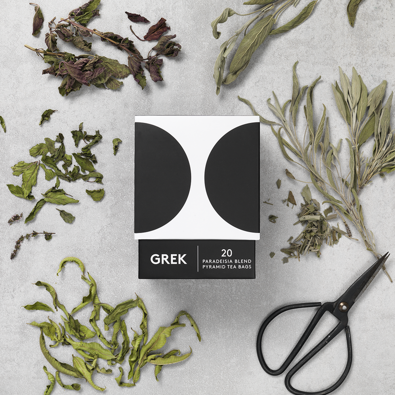 Premium Organic Greek Sage Tea, Paradeisia tea, GREK - Grecian Purveyor, Australia's Purveyor of finest Greek foods. Organic, gourmet and high quality products.