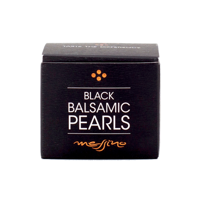 Gourmet Black and White Balsamic Vinegar Pearls
