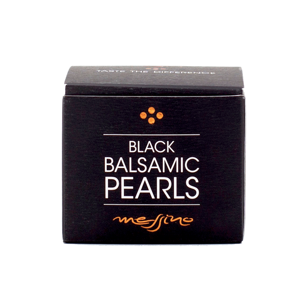 Premium Real Black Balsamic Vinegar Pearls Messino