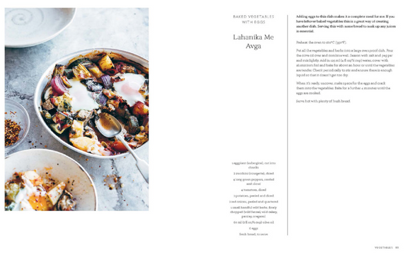 Ikaria cookbook by Meni Valle buy online by Grecian Purveyor. Delivery in Australia, Sydney Melbourne, Brisbane, Adelaide, Canberra and Perth