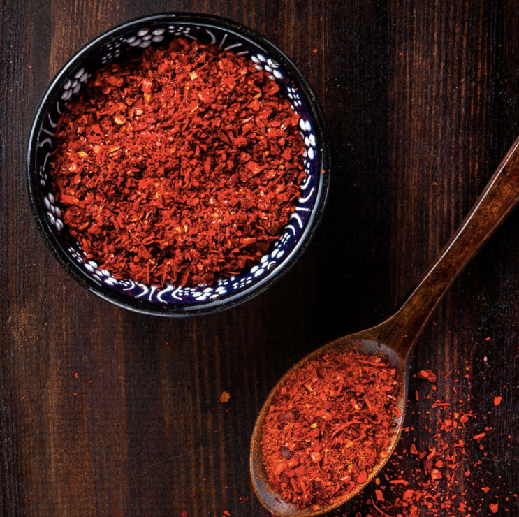Naturally smoked paprika sea salt