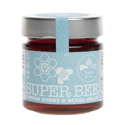 Raw Cotton Honey With Royal Jelly - Superfood