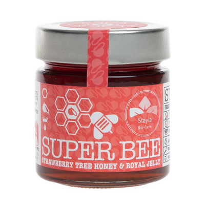 Strawberry Tree Raw Honey With Royal Jelly - Superfood