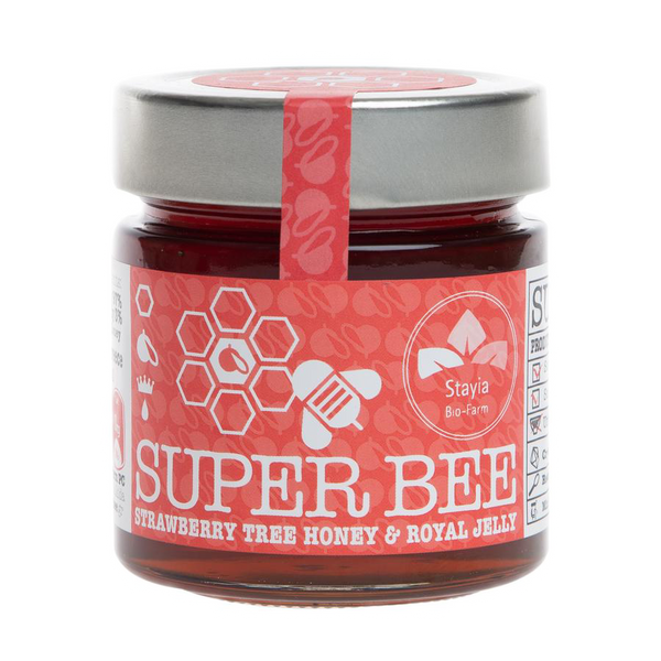 Strawberry tree honey has more antioxidants than manuka honey. Greek raw honey and organic honey in Australia. Healthiest honey and natural superfood.