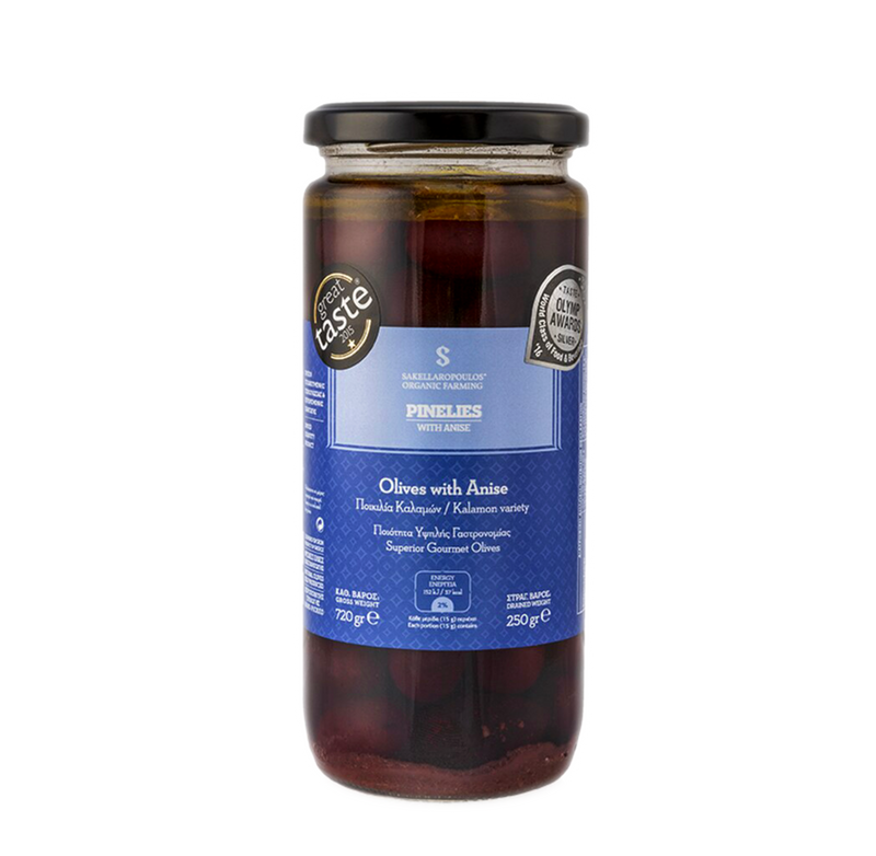 Best olives in AUSTRALIA. Greek organic Kalamata olives from Greece with ouzo and anise. High quality olives. Buy now and get free delivery to Sydney, Melbourne, Adelaide, Perth and Brisbane.
