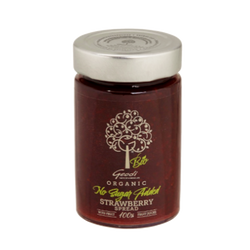 No sugar strawberry jam, organic sugar free fruit jam and marmalade Buy online delivery to Sydney, Melbourne, Brisbane, Adelaide, Canberra and Perth