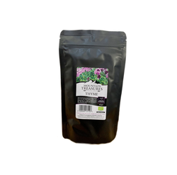 Organic dry thyme from the mountains of Greece. The best dried thyme in Australia by gourmet grocer Grecian Purveyor. herbal thyme tea and dried thyme for cooking..