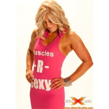 GenXLabs Muscles-R-Sexy Stretch Tank  (Code: 50off)