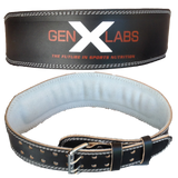 "GenXLabs Padded Weight Lifting Belt 4"" (save25)"