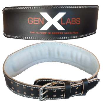 GenXLabs Padded Weight Lifting Belt 4