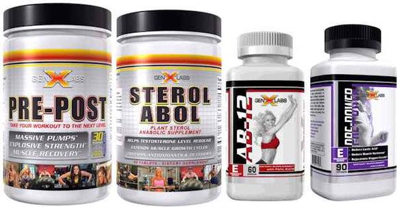 Endurance stack (4 Genxlabs Products)