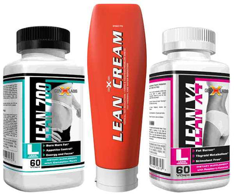Lean Stack- Lean Cream, Lean 700, LeanX4