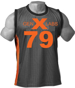 GenXLabs Muscle Tank Top with FREE SHORTS (Limited Offer FREE Shorts)