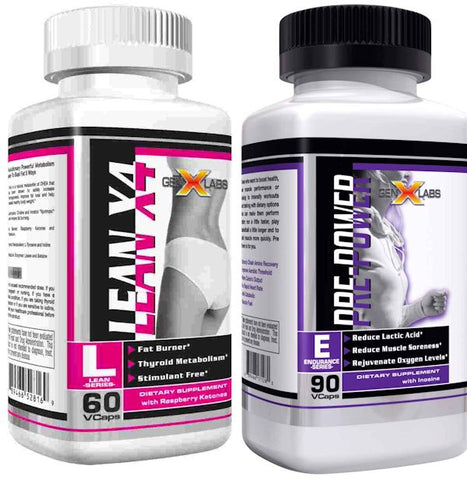 PRE POWER and LeanX4 (STIMULANT FREE PRE-WORKOUT)  FREE LeanX4