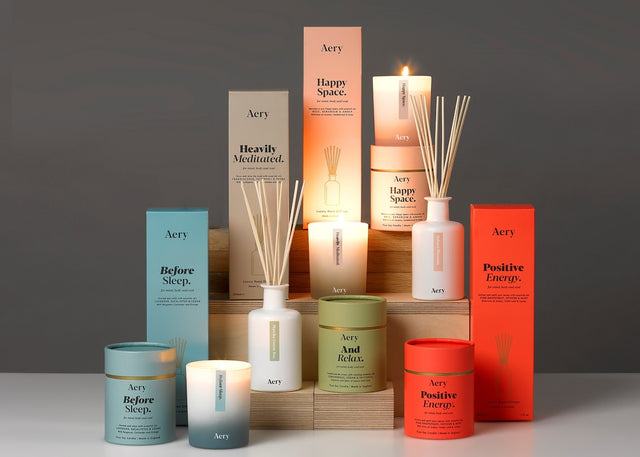 Home Fragrances by Aery - candles made in England