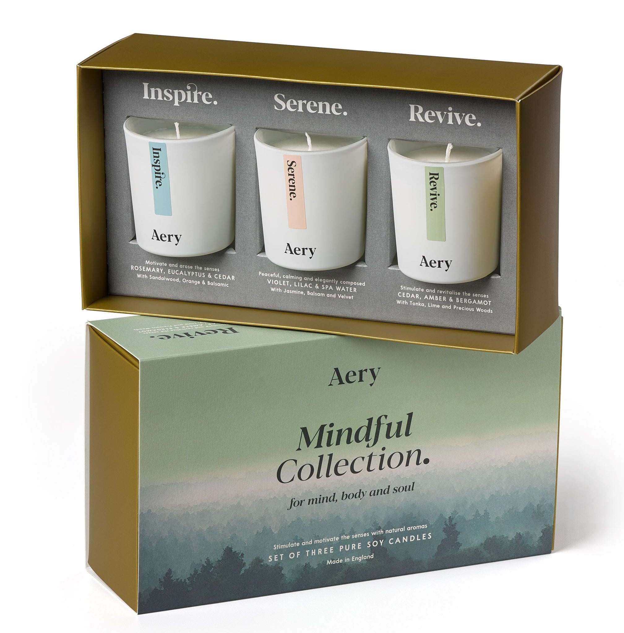 Mindful Gift Set 3 candles