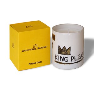 Jean-Michel Basquiat candle         King Pleasure | Fig