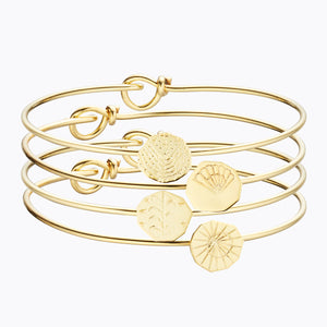 Ilado Paris 4 Elements Bracelet Gold Platted