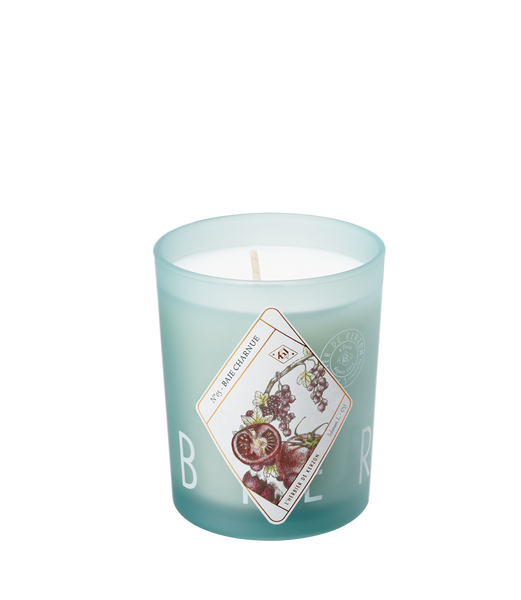 Kerzon candle ''Baie Charnue'' included in the box set of 3 candles ''Herbarium''
