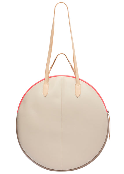 Tote Bag Grand Trianon | Off White/Taupe