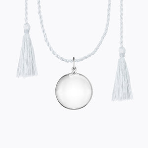 Pregnancy Chime Ball Necklace silver by Ilado Paris