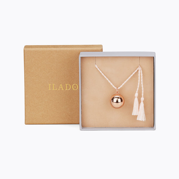gift box pregnancy chime necklace by Ilado Paris