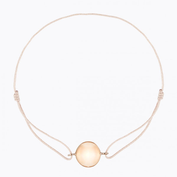 Ilado Paris Chime Bracelet  Pink Gold Platted