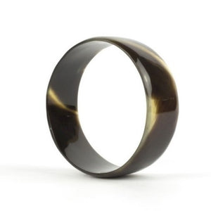 Black Bangle in Natural Hoof