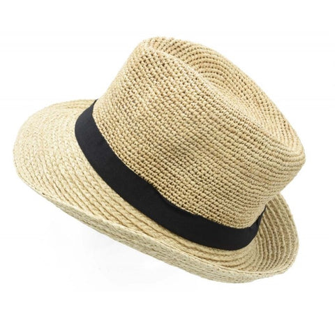 Unisex Fedora Hat - light , soft , foldable it will always bounce back into shape