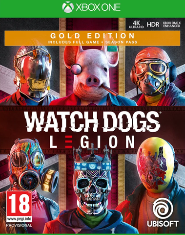 Watch Dogs Legion Gold Edition (Xbox One) - Offer Games