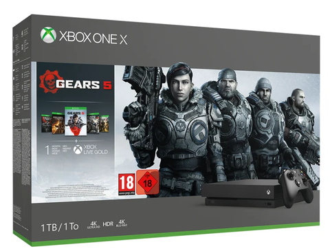 Xbox One X 1TB + Gears of Wars 5 - Offer Games