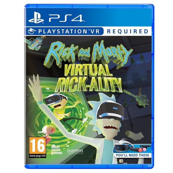 Rick and Morty Virtual Rick-Ality (PSVR) - Offer Games