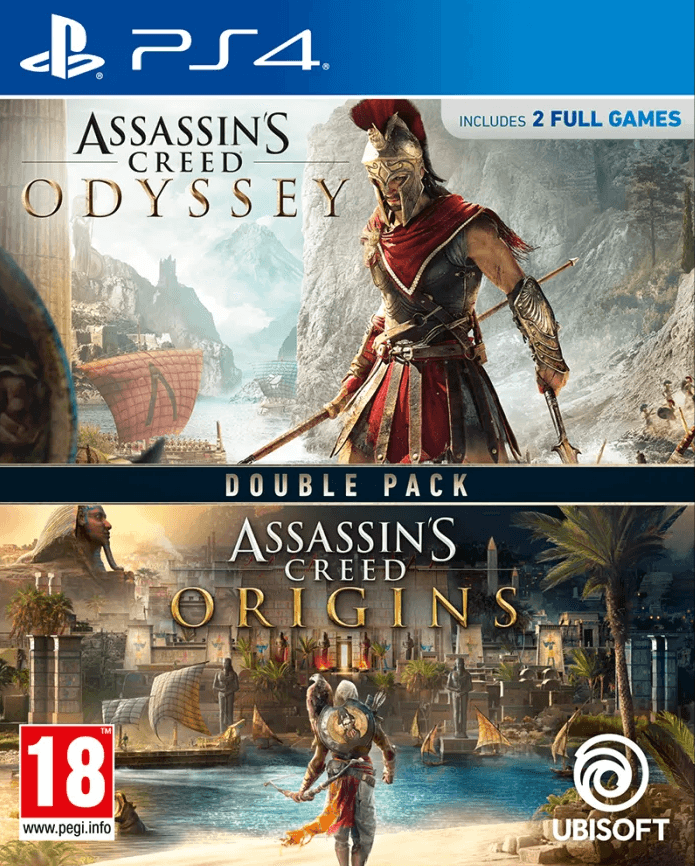 Assassin's Creed Origins + Odyssey (PS4) - Offer Games