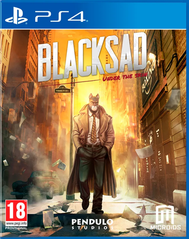 Blacksad: Under The Skin (PS4)