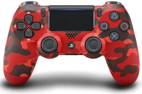 Sony Dualshock 4 Controller (NEW VERSION 2) - Red Camouflage - Offer Games