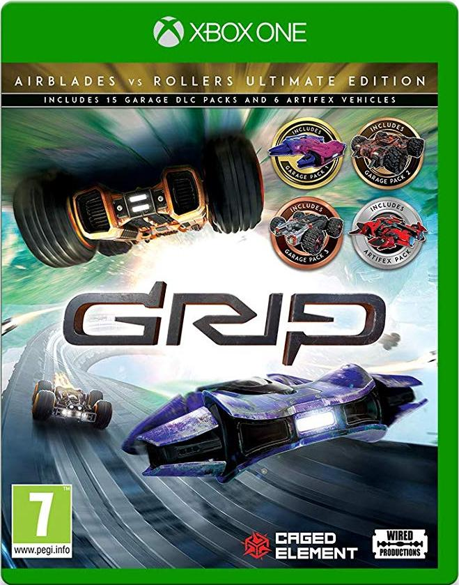 GRIP Combat Racing - Rollers vs Airblades Ultimate Edition (Xbox One) - Offer Games