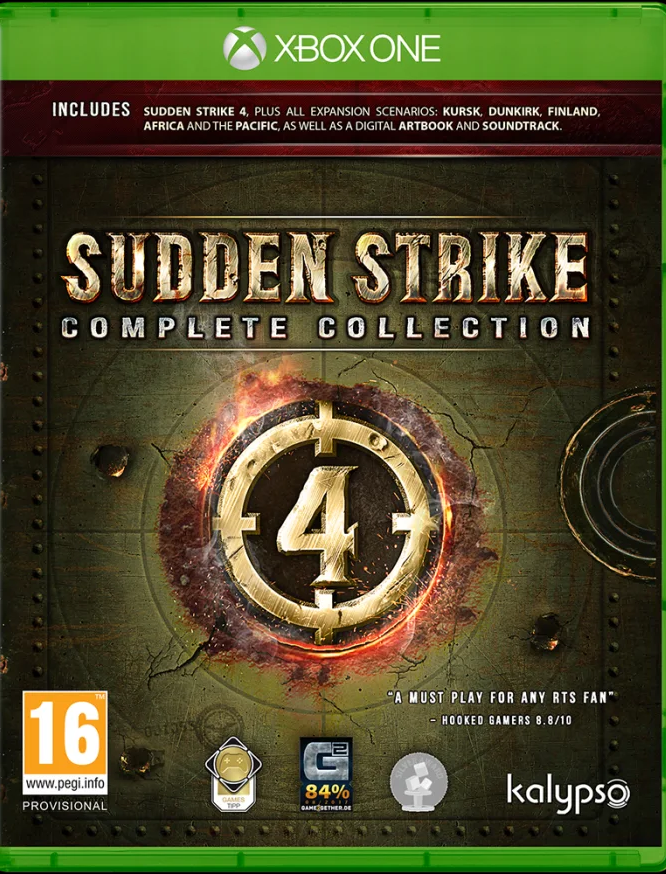Sudden Strike 4 Complete Collection (Xbox One) - Offer Games