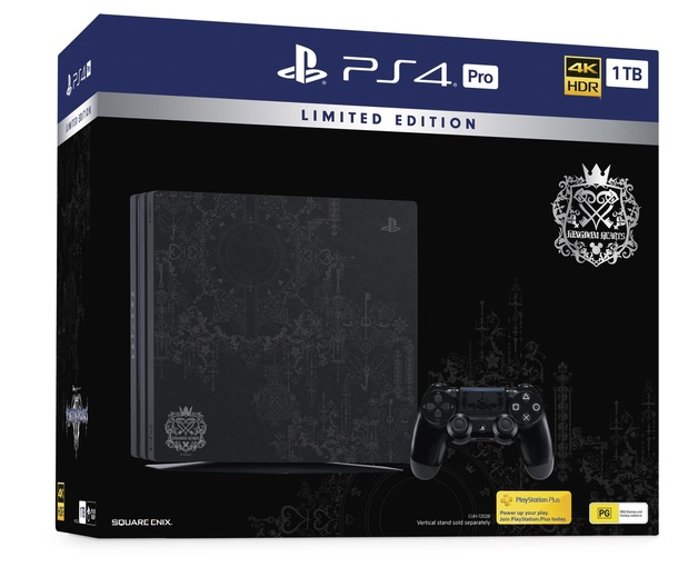 Limited Edition Kingdom Hearts 3 PlayStation 4 1TB PRO - Offer Games