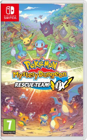 Pokemon Mystery Dungeon: Rescue Team DX (Nintendo Switch) - Offer Games