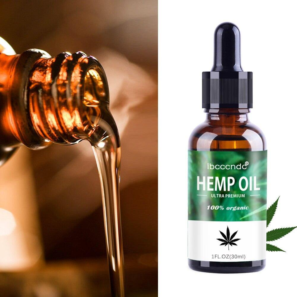 100% Organic 30ml Hemp Oil