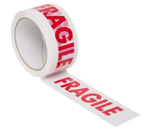 36 Rolls 48MM x 66M Fragile Parcel Packing Tape - Offer Games