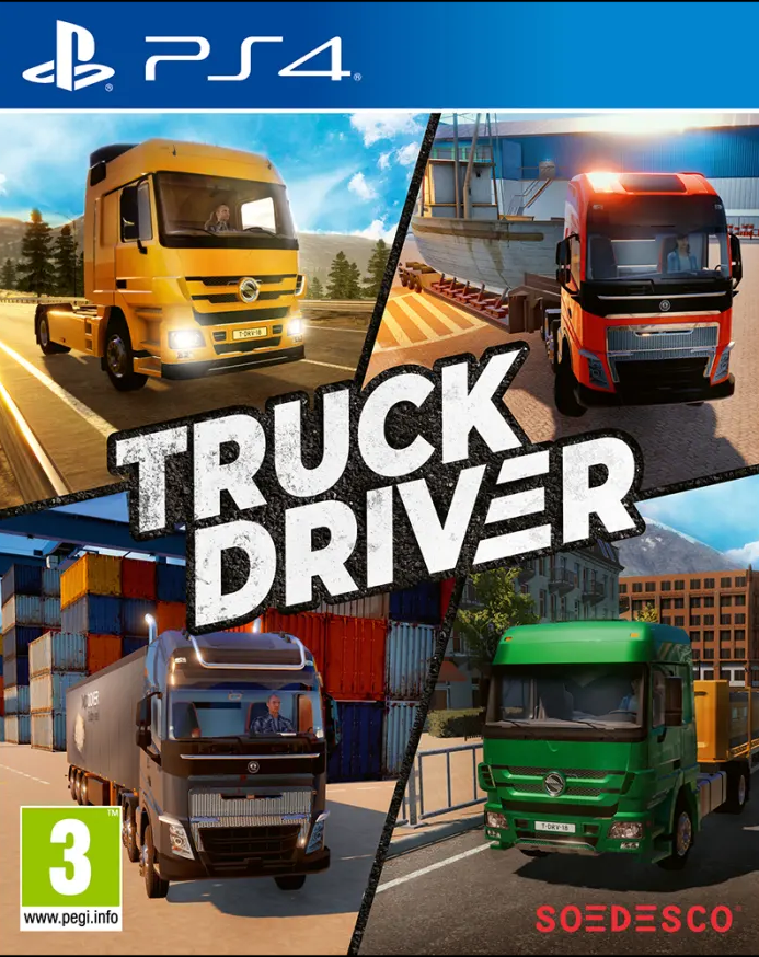 Truck Driver (PS4) - Offer Games