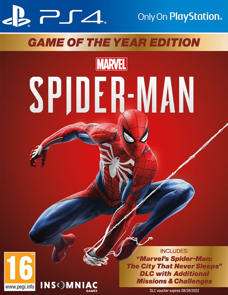 Spider-Man: Game of the Year Edition (PS4) - Offer Games