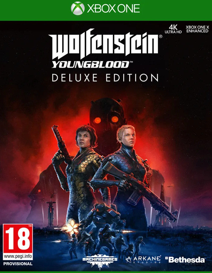 Wolfenstein: Youngblood Deluxe Edition (Xbox One) - Offer Games