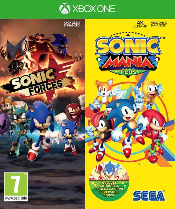 Sonic Forces + Sonic Mania Double Pack (Xbox One) - Offer Games