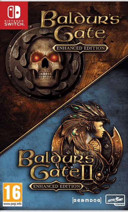 Baldur's Gate I & II: Enhanced Edition (Nintendo Switch) - Offer Games